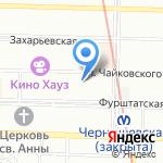 Мобильный аспект на карте Санкт-Петербурга