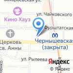 Ньюмед на карте Санкт-Петербурга