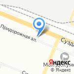 Магазин автозапчастей для ГАЗ на карте Санкт-Петербурга