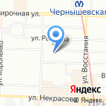 Invite Hotels Group на карте Санкт-Петербурга