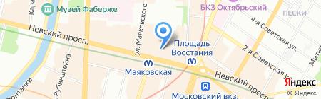 Мэдвис на карте Санкт-Петербурга