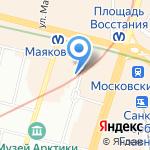 Этно на карте Санкт-Петербурга