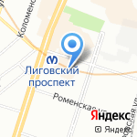 Londonmania.ru на карте Санкт-Петербурга