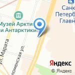 Строительная информация на карте Санкт-Петербурга