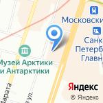 Планета Кристалл на карте Санкт-Петербурга