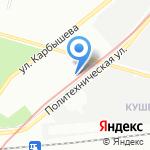 Общество Содействия Автомобилистам на карте Санкт-Петербурга