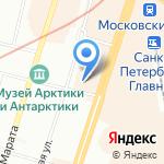 Медицинский колледж на карте Санкт-Петербурга