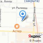АЛМ на карте Санкт-Петербурга