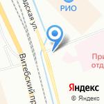 Печора на карте Санкт-Петербурга