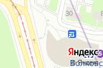 Схема проезда до компании Дайна в Санкт-Петербурге