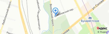 ИВТ СЕРВИС на карте Санкт-Петербурга