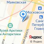 Детский сад №44 комбинированного вида на карте Санкт-Петербурга
