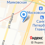 Standard Development на карте Санкт-Петербурга