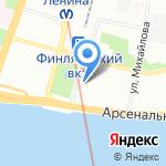 КЛМК на карте Санкт-Петербурга