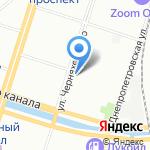 Дентасервис на карте Санкт-Петербурга
