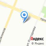 ЖСК №925 на карте Санкт-Петербурга