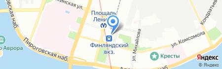 Солянка на карте Санкт-Петербурга