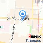 КомиссМода Плюс на карте Санкт-Петербурга