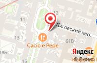 Схема проезда до компании Искусство и Время в Санкт-Петербурге
