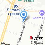 Магазин индийских товаров на карте Санкт-Петербурга
