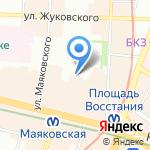 Управление строительными проектами на карте Санкт-Петербурга