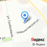 Дом клеёнки на карте Санкт-Петербурга