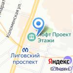 Papa`s Pie Bakery на карте Санкт-Петербурга