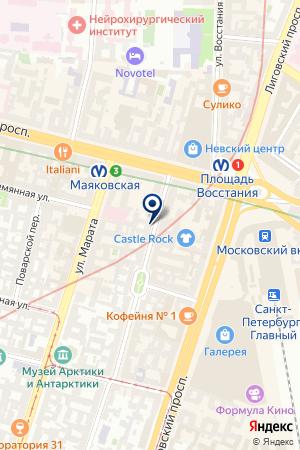 ИЗДАТЕЛЬСТВО ИНФОСКОП на карте Пушкина