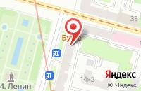 Схема проезда до компании Промжесть в Санкт-Петербурге