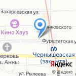 Крунк на карте Санкт-Петербурга