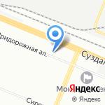 Дружба на карте Санкт-Петербурга