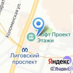 Levishka`s Head на карте Санкт-Петербурга
