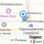 Арт-флора плюс на карте Санкт-Петербурга