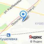 АТ-Электро на карте Санкт-Петербурга