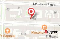 Схема проезда до компании Промэнергомаш в Санкт-Петербурге