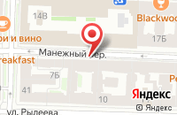 Схема проезда до компании Парадиз в Санкт-Петербурге