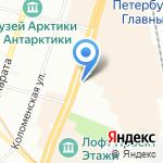 Дом-Быт на карте Санкт-Петербурга