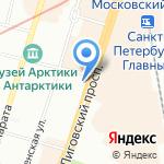 Фьюжен-Трэвэл на карте Санкт-Петербурга