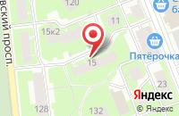 Схема проезда до компании Ат Технолоджис в Санкт-Петербурге