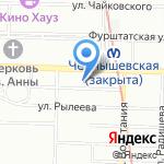 Детективное агентство на карте Санкт-Петербурга