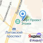 COFFEE GO на карте Санкт-Петербурга