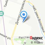 Retro Bus на карте Санкт-Петербурга