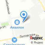 Атика на карте Санкт-Петербурга