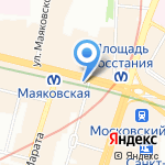 DRoP на карте Санкт-Петербурга
