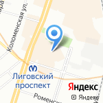 Like Kate на карте Санкт-Петербурга