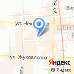 РОСТОК на карте Санкт-Петербурга