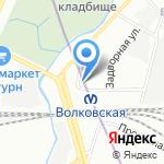 Магриб на карте Санкт-Петербурга