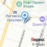 Сан Принт на карте Санкт-Петербурга