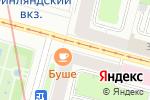 Схема проезда до компании Дары России в Санкт-Петербурге