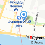 1-я Рюмочная на карте Санкт-Петербурга